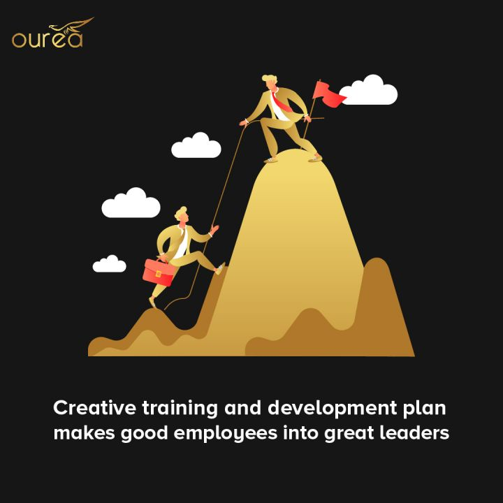 CREATIVE TRAINING AND DEVELOPMENT PLAN MAKES GOOD EMPLOYEES INTO GREAT LEADERS