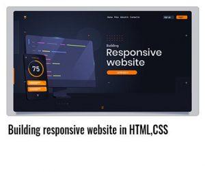 Building-responsive-website-in-HTML,CSS