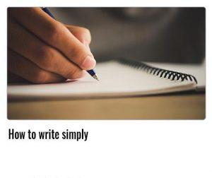 How-to-write-simply