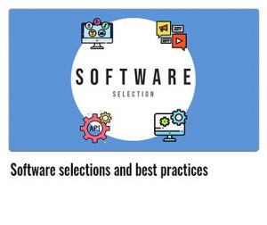 Software-selections-and-best-practices