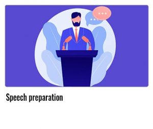 Speech-preparation