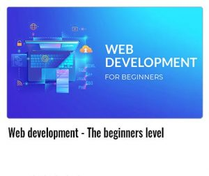Web-development---The-beginners-level
